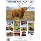 Highland Cattle 2012 Deluxe Calendar