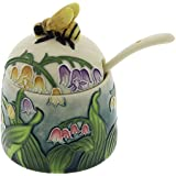 Old Tupton Ware Lily Of The Valley Hand Painted Honey Pot