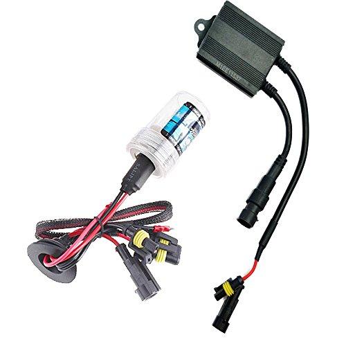 Sixty61 Suzuki Boulevard M109 Xenon HID headlight conversion single bulb kit for High/Low Beam (6000K - White)