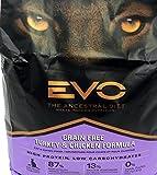 EVO Turkey & Chicken Cat & Kitten Grain Free Food 2.2 Pounds