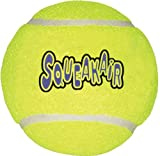 Kong AIR DOG Large Squeaker Tennis Ball - Dog Fetch Toy