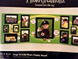 Little League Softball Baseball Photo Creations 46inX16in Large Tri-Fold Photo Display Board