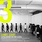 Super Junior 3集 - Sorry, Sorry (バージョンA)(韓国盤)