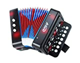 American Music Pro Kid Series Accordion - Black Cherry