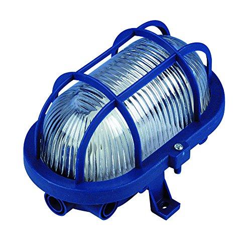 Ovalleuchte, 60 W, blau, 0590048555