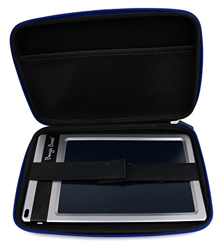 Duragadget Blue Zipped Case With Soft Lining For Boogie Board Jot 8.5 Inch Lcd Writing Tablet & Personal Organiser (All Colours)