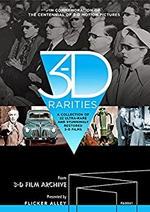 3-D Rarities [Blu-ray] by Flicker Alley, LLC