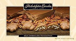 Philadelphia Candies Milk Chocolate Pecanettes (Caramel Pecan Clusters)
