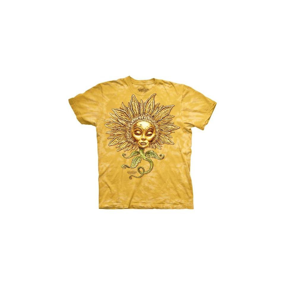Sunflower 100% Organic Cotton Tee Shirt by The Mountain (Medium Adult)