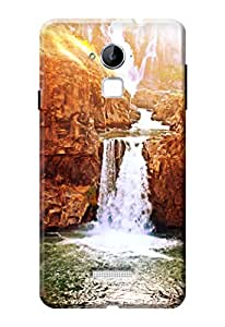 Kanvas Cases Printed Back Cover For Coolpad Note 3 (Multi-Coloured) With Mobile Viewing Stand