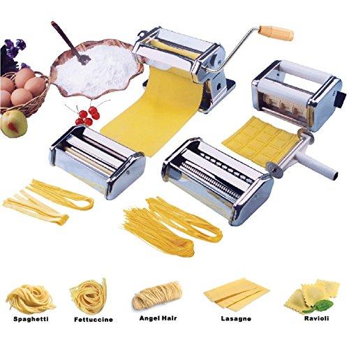 vivoc-heavy-duty-5-in-1-stainless-steel-professional-fresh-pasta-lasagne-spaghetti-tagliatelle-ravio