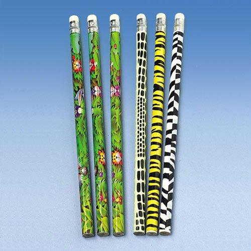 Wild Animal Pencils