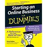 Starting an Online Business For Dummies ~ Greg Holden