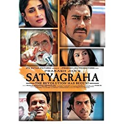 Satyagraha  Democracy Under Fire - Blu Ray (Hindi Film / Bollywood Movie / Indian Cinema) 2013 Blu-Ray