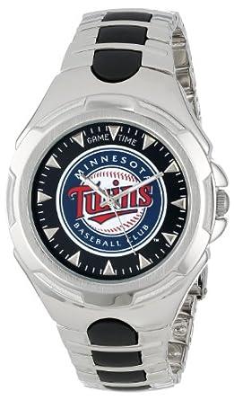 MLB Mens MLB-VIC-MIN Victory Series Minnesota Twins Watch by Game Time