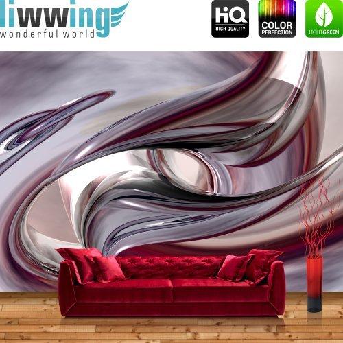 Hornbach Tapete Erismann : Sonstige – LIWWING Vliestapete Fototapete Vlies Tapete 3D Lila Pink