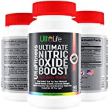 "#1 Nitric Oxide Booster -- Ultimate Nitric Oxide Supplements + L Arginine Are The Best Pre Workout Pills To Build Muscle Fast, Increase Strength, Reduce Recovery Time and Maximize Endurance In And Out Of The Gym! Experience ""The Power of The Pump"" for Yourself-- Fast Acting Formula--100% ""SEE RESULTS"" Satisfaction Guaranteed or Your Money Back-- Buy 2, Get FREE Shipping"