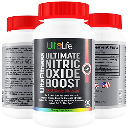 #1 Nitric Oxide Booster -- Ultimate Nitric Oxide Supplements