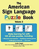 img - for The American Sign Language Puzzle Book Volume 2 book / textbook / text book