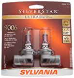 Sylvania 9006 SU SilverStar Ultra Halogen Replacement Bulb , (Pack of 2)