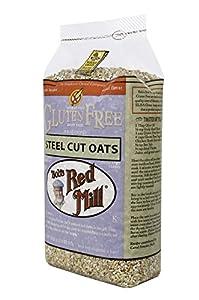 Bob's Red Mill Gluten Free Whole Grain, Steel Cut Oats, 24-Ounce Bags (Pack of 4)