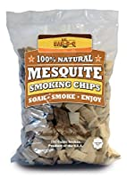 Mr Bar B Q 05011 Hickory & Mesquite Wood Smoking Chips, Value Pack...