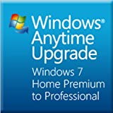Microsoft Windows Anytime Upgradeパック Home PremiumからProfessional [オンラインコード] [ダウンロード]