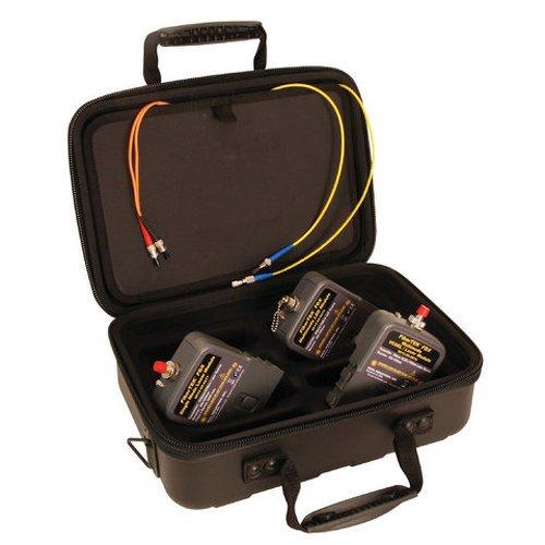 Ideal Industries 33-990-Fa04 Fibertek Ftek Fdx 33-990-Fa04 Dual Mm/Sm Testing Kit With Led Multi Mode Adapters And Laser Single Mode Adapters
