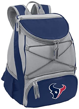 NFL Houston Texans PTX Insulated Backpack Cooler, Blue by Picnic Time