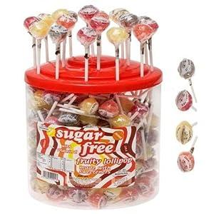 200 x Sugar Free Fruity Lollipops with Vitamin C Simpkins (Cola, Cherry, Orange & Lemon)