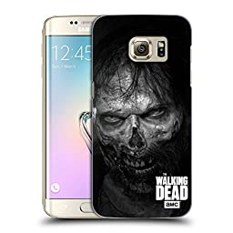 Official AMC The Walking Dead Stare Logo Hard Back Case for Samsung Galaxy S7 edge