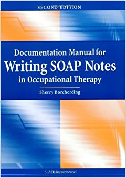 Occupational Therapy writing will example