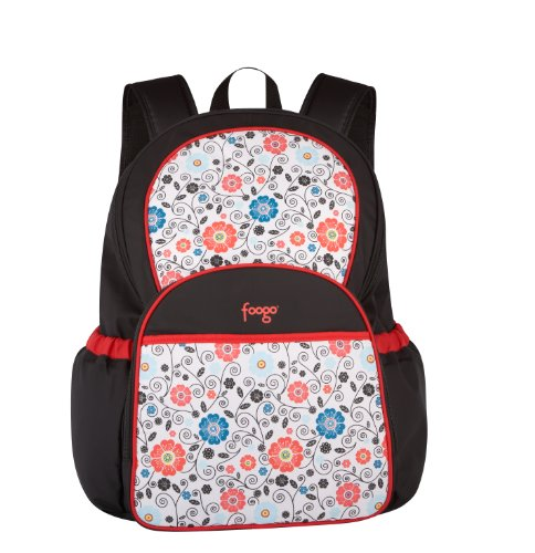 thermos foogo backpack diaper bag poppy patch diaper. Black Bedroom Furniture Sets. Home Design Ideas