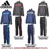 adidas(アディダス) M Training ESS メンズ ウインドブレーカー 上下セット (BBV23/BBV24) (L, ブラック×ホワイト(AH3650/54))