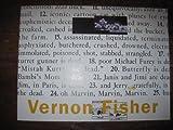 Vernon Fisher: American Tragedy