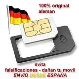 MicroSIM Adaptador Original fabricado en Alemania para Tarjetas MicroSIM para utilizar la Micro SIM como una SIM normal
