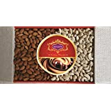 Skylofts 800gms American Giri Almonds, Cashew Nuts Gift Pack