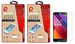Raydenhy Pack of 2 (2 PCS) 2.5D Curved Edges 0.33MM Thickness Tempered Glass For Asus Zenfone 2 Laser ZE500KL (5