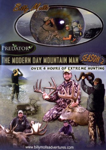 Season 2 The Modern Day Mountain Man : Brown Bear, grizzly bear, Dall sheep, caribou, and moose hunting in Alaska and Whitetail hunting from Canada and Wisconsin, 11 hunts over 4 hours!
