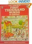 German (Usborne First 1000 Words)
