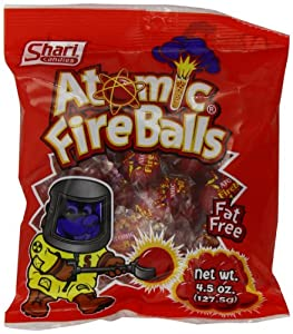 Shari Atomic Fire Balls, 4.5-Ounce Bags (Pack of 12)