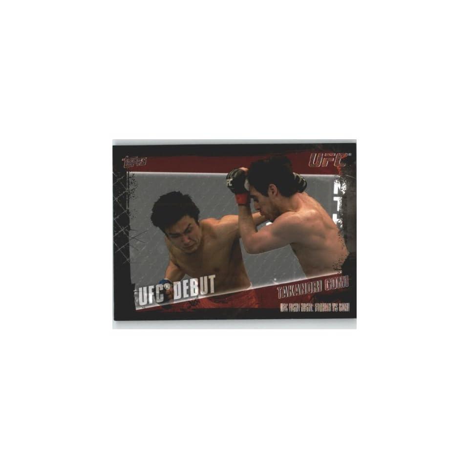 2010 Topps UFC Trading Card # 166 Takanori Gomi (Ultimate