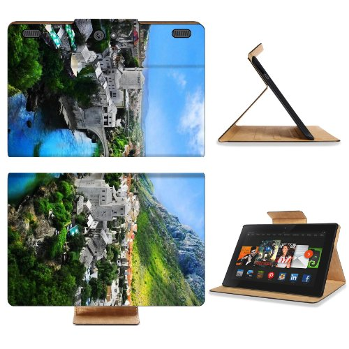 Bosnia And Herzegovina Mostar Old Town Mostar Nature Landscape Amazon Kindle Fire HDX 8.9 [2013 Version] Premium Deluxe Pu Leather Flip Case Stand Magnetic Cover Open Ports Customized Made to Order Support Ready 9 13/16 Inch (250mm) X 6 7/8 Inch (175mm) X 11/16 Inch (17mm) Liil Professional Kindle_fire Cases Kindle8.9 Accessories Build Model Graphic Background Covers Designed Model Folio Sleeve HD Template Designed Wallpaper Photo Jacket Luxury Protector sale off 2016