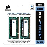 Corsair Apple Certified 8GB (2x4GB)  DDR3 1333 MHz (PC3 10666) Laptop Memory