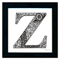 Z Monogram Pen & Ink