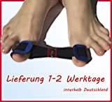 Zehenspreizer Fußbandage Hallux Valgus Band Korrektor, Zehenkorrektur, Ballenzeh Bandage