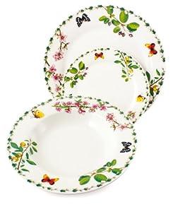 Villa d 39 este home 2171550 botanique servizio piatti per 6 persone in porcellana 18 pezzi - Cucina villa d este ...