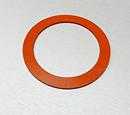 SILICONE RUBBER GASKETS FOR VACUUM PERFORATED FLASKS 3-1/2\