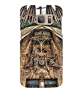 EPICCASE Beautiful churches Mobile Back Case Cover For Samsung Galaxy S7 Edge (Designer Case)