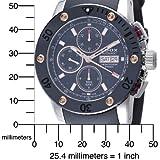 Edox Men's  01107 TINR NIR Chronograph Automatic Class-1 Watch